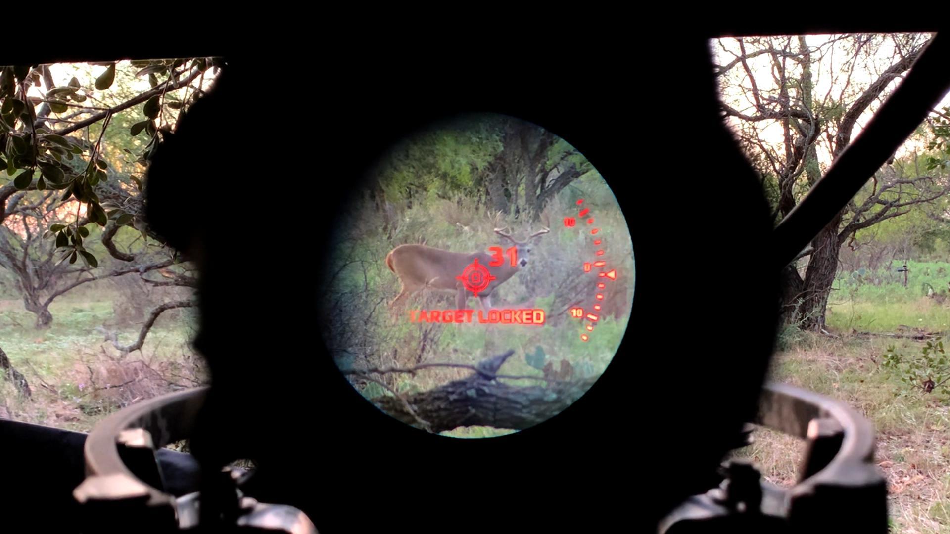 POV of Xero X1i Crossbow Sight