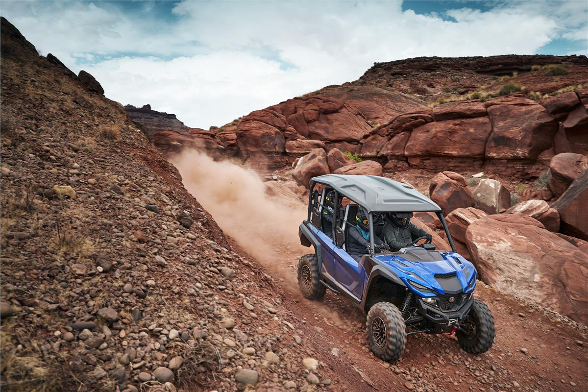 Yamaha Blue Wolverine X4 Side-By-Side