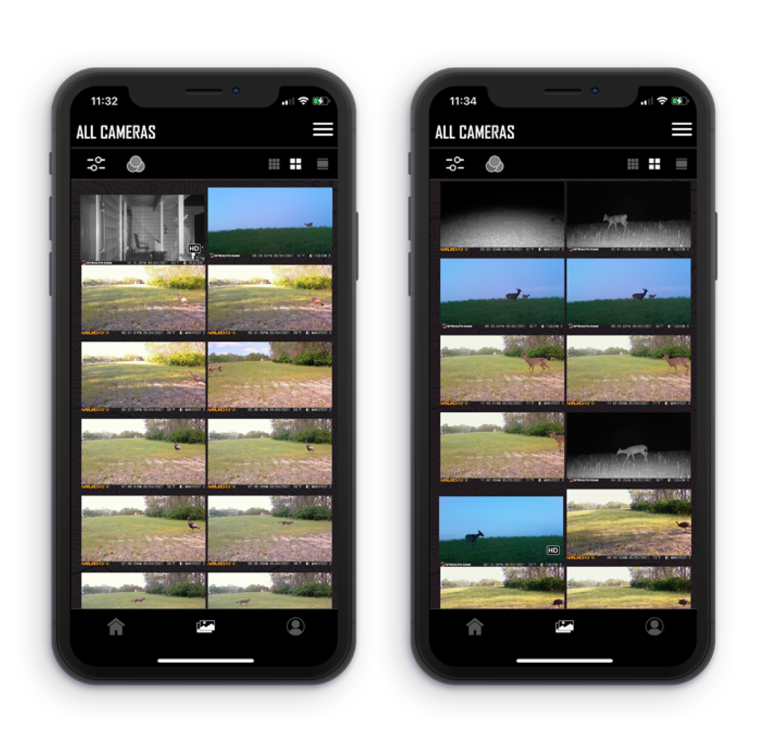 Global Gallery in the Command Pro App